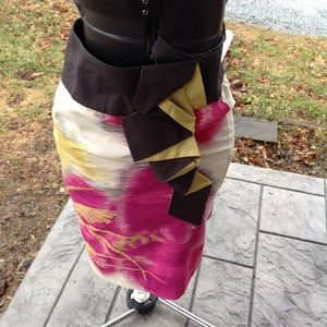 Womans Anthropologie skirt.